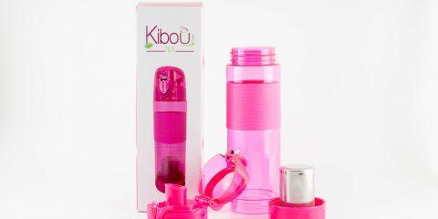 Bouteille à infuser Kibou Rose