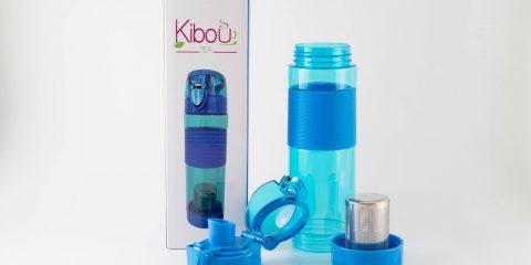 Bouteille à infuser Kibou Bleue