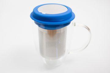 Tasse et infuseur Kibou Bleue